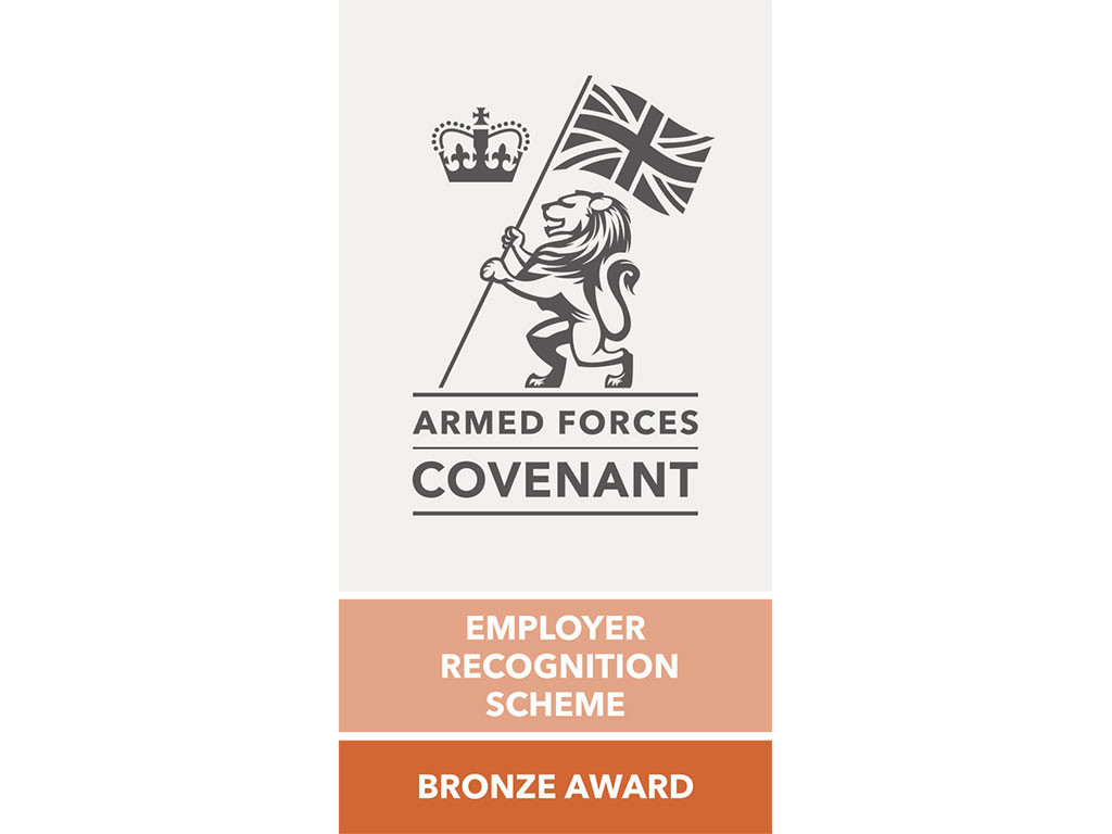 Bronze Award for commitment to the Armed Forces