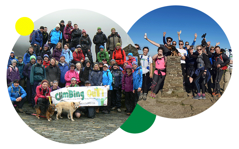 Climbing Out Fundraising Hike