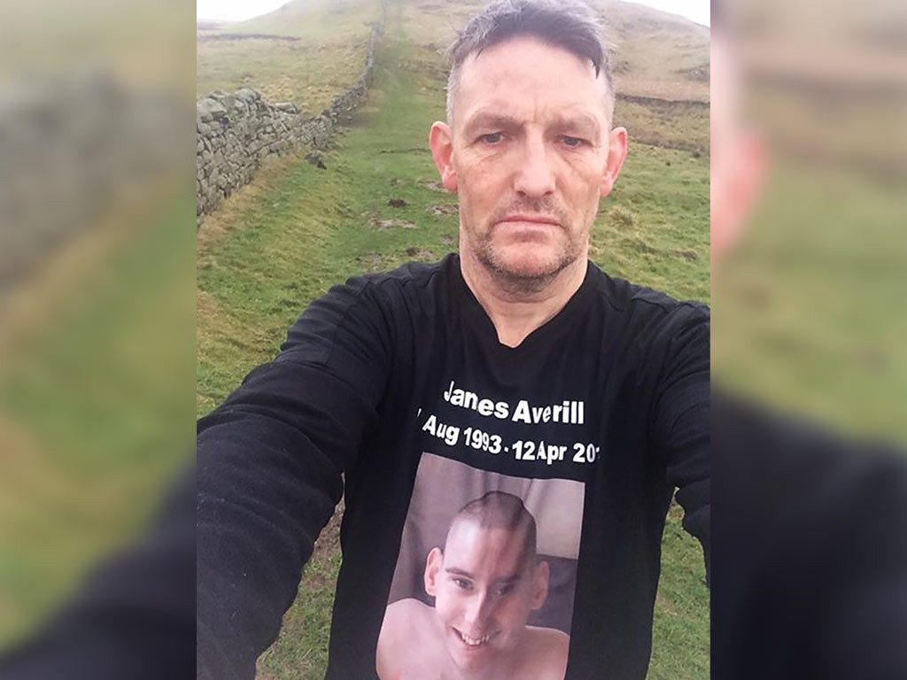 Davey conquers the Pennine Way!