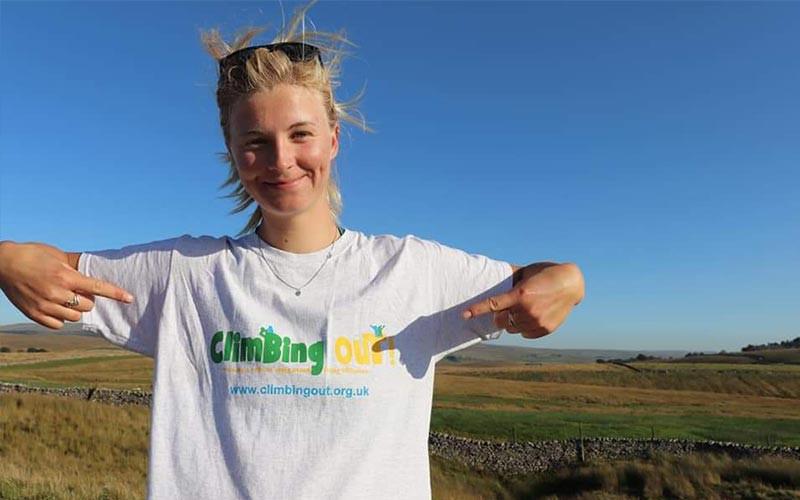 Laura Gillmore Climbing Out tshirt